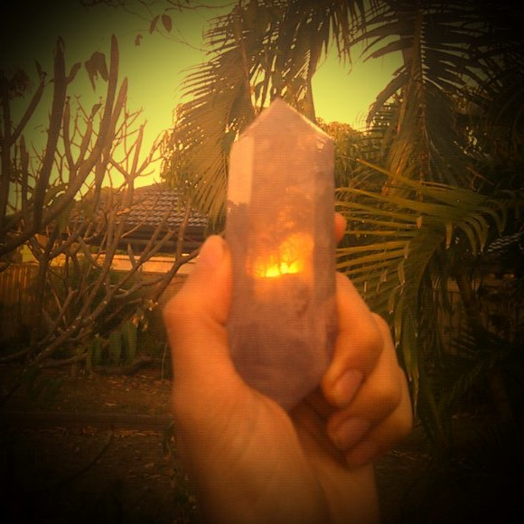 Crystal for copper pyramid Guy Sohm